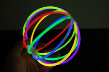 Set of 3 Assorted Glow Stick Balls - 36 Glow Sticks + 6 Ball Connectors