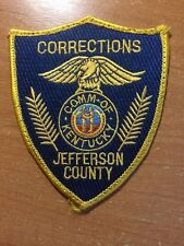 PATCH CORRECTIONS  JEFFERSON COUNTY - KY KENTUCKY state