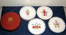 New Lenox Merry & Bright Holiday Plate Set of 4