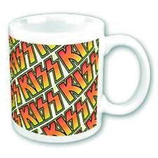 *OFFICIAL LICENSED  KISS LOGO BOXED COFFEE MUG CUP DRINKWARE MASKS