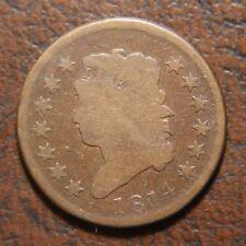 1814 Classic Head Large Cent, S-295, Plain 4