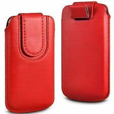 Soft Magnet PU Leather Pull Tab Flip Case Cover For Samsung Galaxy Trend Plus