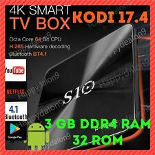 R-TV BOX S10 KODI 17.4 Android 7.1 3GB RAM DDR4 32GB S912 OctaCore TV Box AUS
