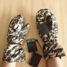 Electric Heating Waterproof Outdoor Ski Unisex Winter Warm Mitten Gloves Sightly