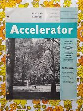 ACCELERATOR March 1957 Vol. 14 No. 2 GMH NASCO Parts Holden magazine