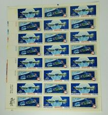 1975 Apollo Space Test Project 10 Cent Sheet of 30 Mint