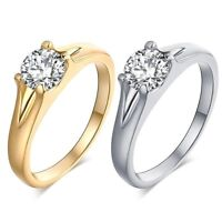 Cubic Zirconia Romantic Fashion Rings For Womens Girls Wedding Rings For Lovers