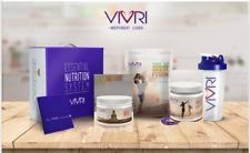 VIVRI® ESSENTIAL NUTRITION SYSTEM FLAVORS: VEGAN, CAFFE,/LATE Y  JAMAICA