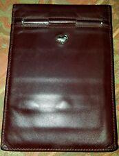 89d54df40f MANDARINA DUCK portafogli uomo wallet man vintage pelle leather cm 10x14