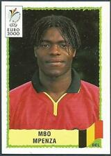 PANINI EURO 2000-BLACK BACKS- #111-BELGIUM-MBO MPENZA
