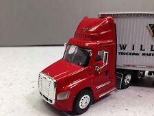 HO 1/87 TNS # 103 Freightliner Cascadia  Day Cab w/53' Dry Van - BR Williams