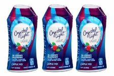 Crystal Light Blueberry Raspberry Liquid Drink Mix 3 Bottle Pack