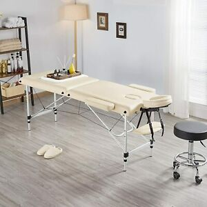 New Portable Fold Massage Table Beauty Bed Massage Therapy Couch Facial SPA