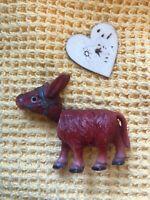 Vintage 1930s Celluloid Nodding Donkey Bobblehead