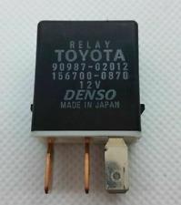 Toyota & Lexus (95-16) Multi-Use 4-Pin Black Relay 90987-02012 Denso 156700-0870