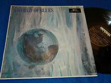 LP A WORLD OF BLUES floyd dixon IMPERIAL jamas wayne AMOS MILBURN t-bone walker