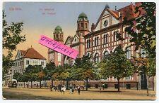 Foto-Postkarte um 1912 :  Synagoge in Ujvidek / Novi Sad / Neusatz in Serbien