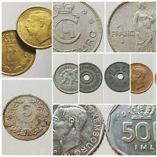 Monnaies LUXEMBOURG Centimes Francs 1901 - 1990 Choisissez votre monnaie !