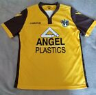 SUTTON UNITED FC HOME FOOTBALL SHIRT 2018-2020 CHILD AGE 8-9 2XS BRAND NEW