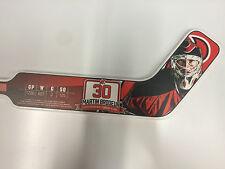 MARTIN BRODEUR #30 Jersey Retirement Night Mini Stick NJ New Jersey Devils 2/9