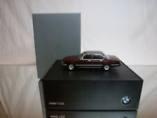 MINICHAMPS BMW 728i - E23 - BROWN METALLIC 1:43 RARE - EXCELLENT IN DEALER BOX
