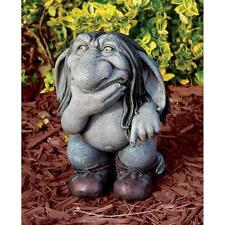Troll Mythical Hairy Creature Garden Statue Yard Woodland Forest Gnome Folk