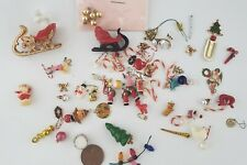 Vintage Dollhouse Miniature Christmas Ornament Lot HUGE! 1:12 Scale