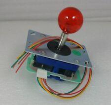 Japan Seimitsu Clear Red Joystick With 5 Pin Hanress Arcade Parts LS-32-10