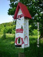 ORIGINAL die VOGELVILLA Turmvilla GARTENLUST 2in1 Nistkasten & Vogelfutterhaus w
