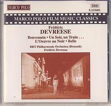 Marco Polo Film Music Classics - Devreese: Benvenuta, Un Soir, Un Train Like New