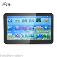 "704 7"" Truck Car GPS Navigation Navigator with Free maps Win CE 6.0 Europe map"