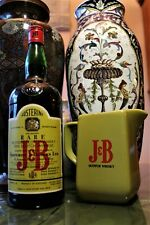 "WHISKY 1944/1948 STORICO FLACONE di RARE J&B ALLIED OFFICERS' CLUB NAPLES""+JUG"