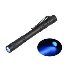 365nm AAA Battery UV Pen Light Portable Aluminum Alloy Money Currency Detector