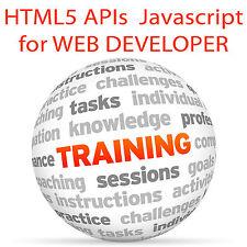 HTML 5 APIs para JavaScript para programador Web-capacitación en video tutorial DVD