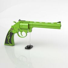 Pistol Revolver Display Stand Weapon Holder Clear Acrylic Model Showing