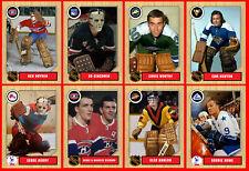 1960s 1970s 1980s 1990s Retro NHL Custom Made Hockey Cards U-Pick THICK (Set 4)