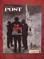 Saturday Evening POST November 18 1967 THE MAFIA RAQUEL WELCH ++