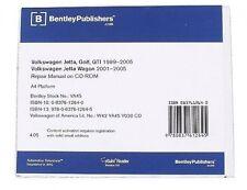 Volkswagen Golf Jetta CD-ROM Repair Manual 99-05 Golf,GTI,Jetta,Jetta Wagon NEW