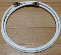 10 Ft,Feet,Foot, White Rg6 Digital HD Coax/Coaxial Satellite TV Cable Wire Cord