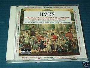 CD-JOSEPH & MICHAEL HAYDN-CONCERTOS-PIERRE VERANY RARO!CONCERTOS POUR TROMPETTE