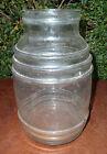 Ancien pot à bonbons en verre d'une ancienne épicerie, ancien bocal bonbonnière