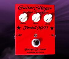 Guitarslinger effects Fireball Mk II boutique Screamer True bypass Handmade