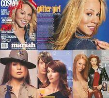 Sexy Mariah Carey Jessica Alba Beyonce Tori Amos COSMO GIRL magazine mint