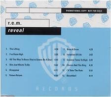 REM - Reveal - Scarce German 12 track promo CD