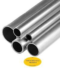 Tubo Tondo alluminio Anticorodal 6060 mm 18x1,5 lung.1 mt fresa tornio cnc hobby