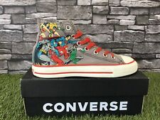 Converse All Stars Retro DC Comics Originals Hi Top Botas Béisbol Zapatillas UK 5