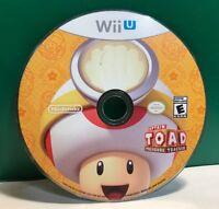 Captain Toad: Treasure Tracker (Nintendo Wii U, 2014) DISC ONLY 13398