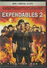 The Expendables 2 DVD Bilingual Free Shipping In Canada