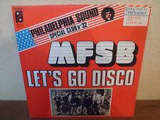 "SP 7"" MFSB - MFSB - THE PHILADELPHIA SOUND - HOLLAND"