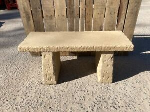 Concrete Garden Bench 3ft . Price includes del ( some exceptions )